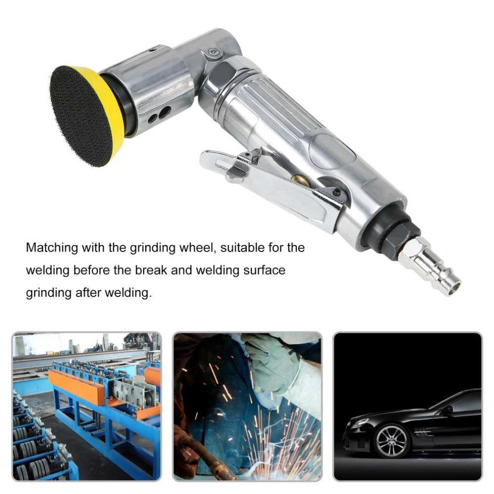 90 Degree Pneumatic Angle Grinder 50mm Air Die Grinder Tools Durable Polishing Tool Heavy Duty Polishing Machine Abrasive tool дырокол deli heavy duty e0130
