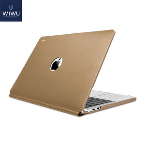 Image 5 - New Laptop Case for MacBook Pro 13 inch A2159 2019 PU Leather Laptop Sleeve for Apple MacBook Case 13 Water resistant Laptop Bag