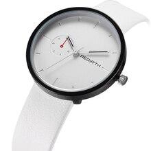 Nova Marca de Moda Das Mulheres Dos Homens de Luxo Masculino Relógio de Couro Elegante Business Casual Do Exército Militar Esporte Relógio de Pulso de Quartzo RE003A
