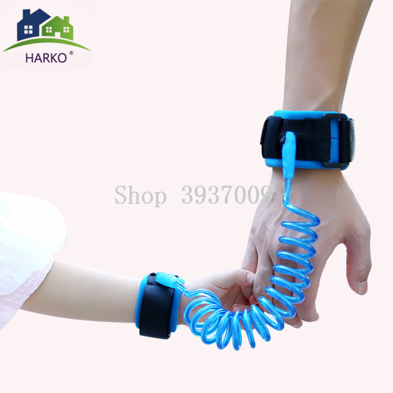 Child Wrist Leash Toddler Baby Adjustable Kids Safety Harness Children Band Anti Lost Link Traction Rope Child Safety Wristbands