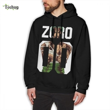 One Piece Zoro Sweatshirt Male 2018 New Arrival Short Sleeve Pure Cotton