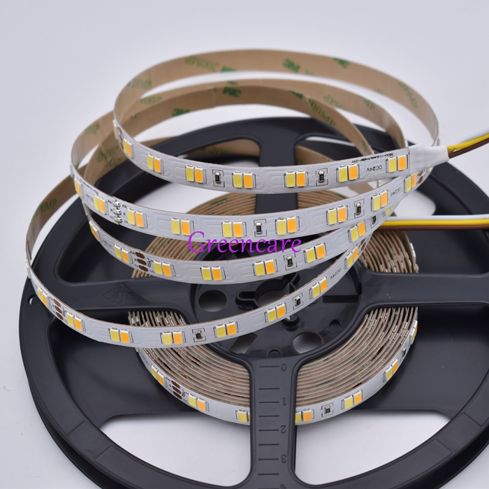 Bright 50-55LM/led 5630 Double Color LED strip 112leds Two color stripe white+ warm white 5M/lot Non waterproof Free Shipping бра leds c4 margaritaville 05 2222 t1 55