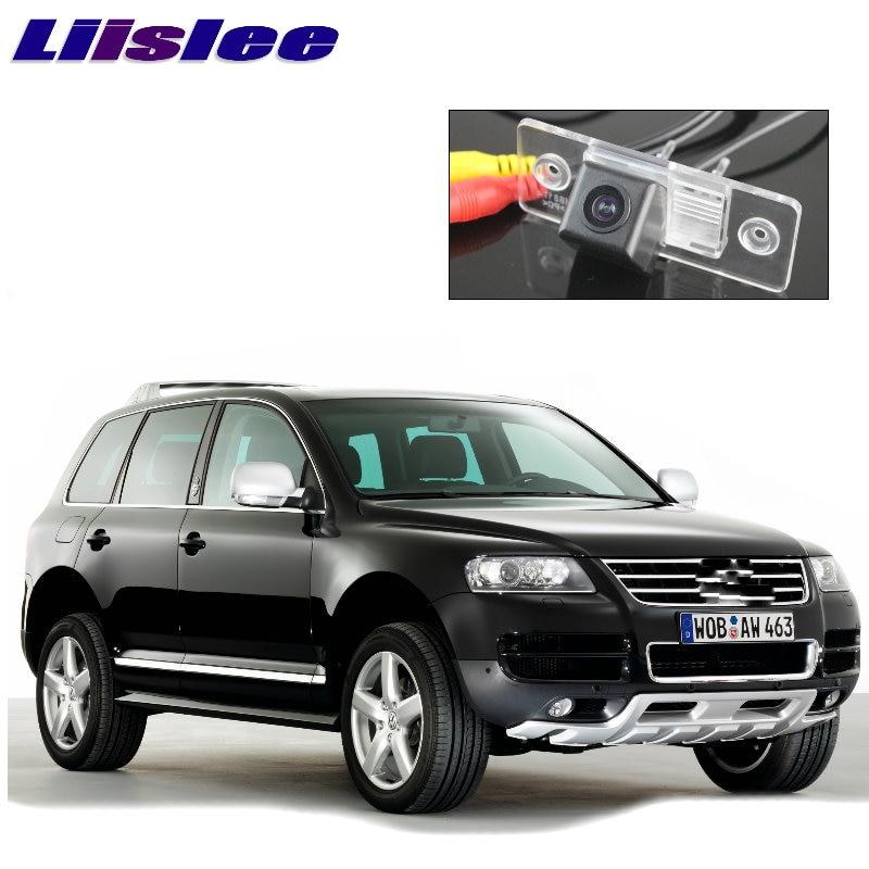 LiisLee Car CCD Night View Vsion Rear font b Camera b font For Volkswagen VW Touareg