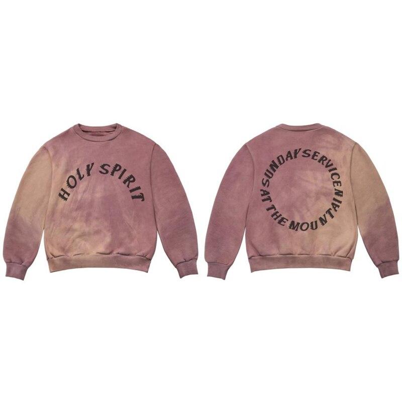 2019 neueste design Mode marke Hip Hop Männer/frauen Kanye West HEILIGEN GEIST Hoodies Baumwolle 100% 1:1 Sweatshirt Männlichen hoody
