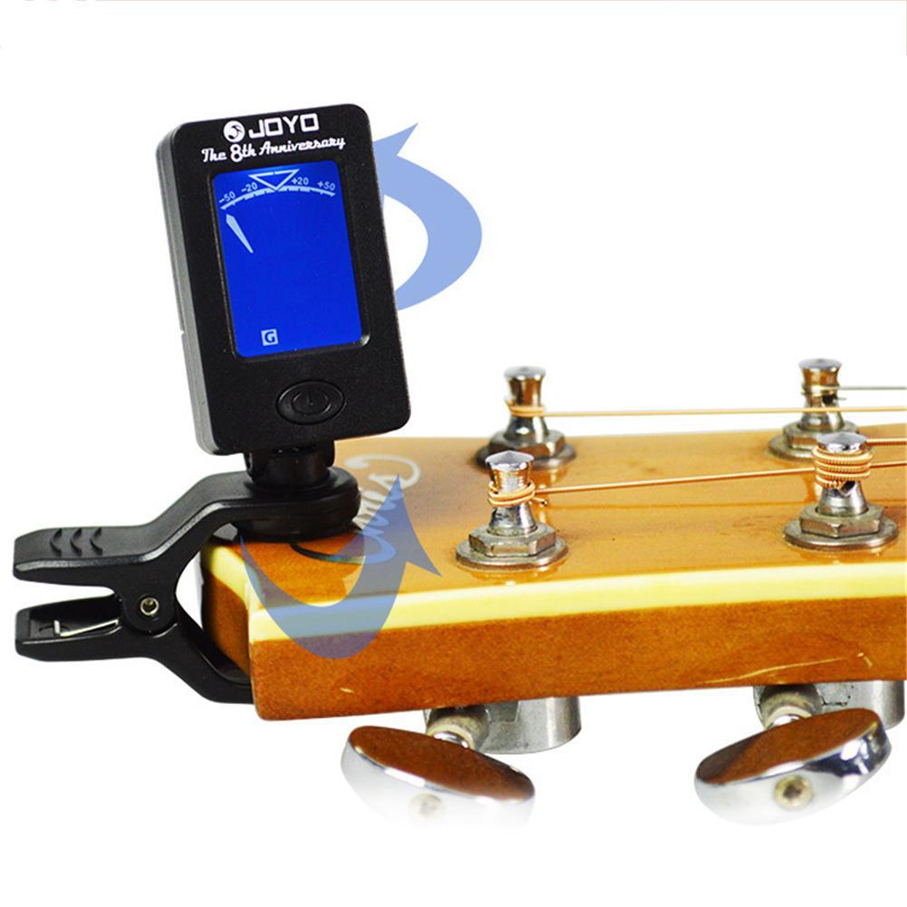 JOYO Acoustic Guitar Tuner Ukulele Violin Bass Tuner Universal Register