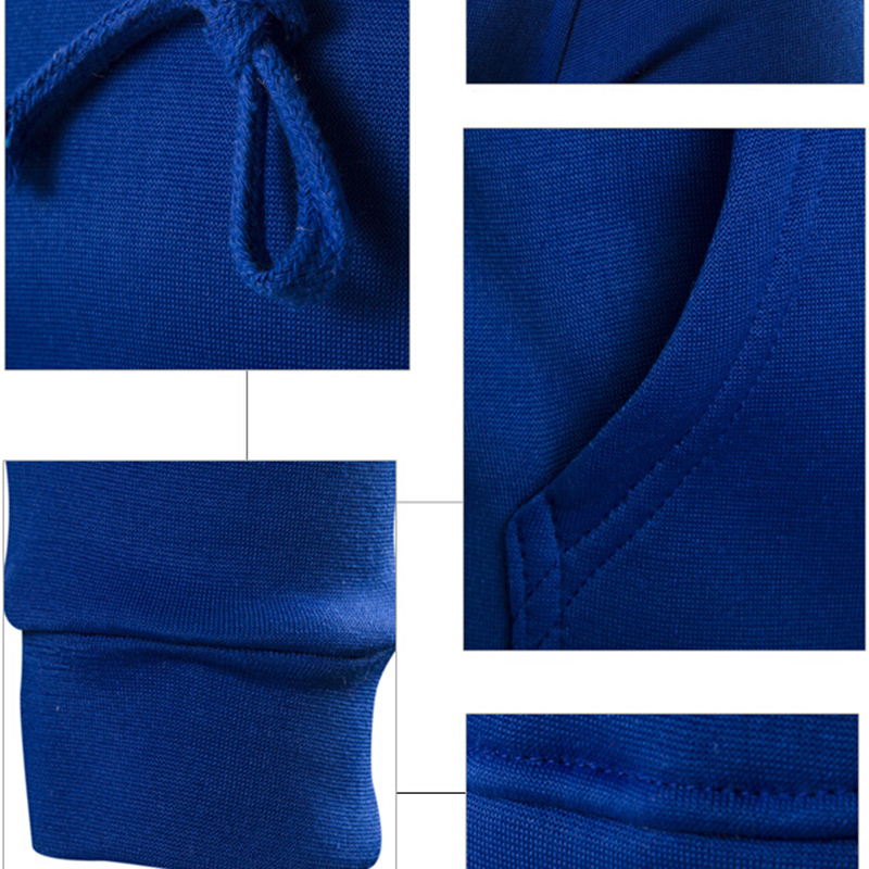 f9a3cc60 New 2017 Hoodies Mens fashion Brand Hoodie solid Color Sweatshirt Polyester  Men Slim Men's Hoody sweatshirts 6 color XXL Tops-in Hoodies & Sweatshirts  from ...