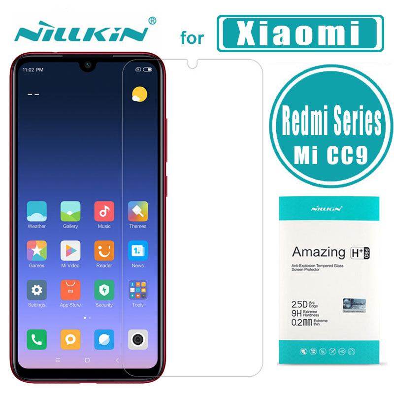 For Xiaomi Redmi Note 7 6 5 Pro Glass Nillkin 9H Pro Tempered Glass Screen Protector