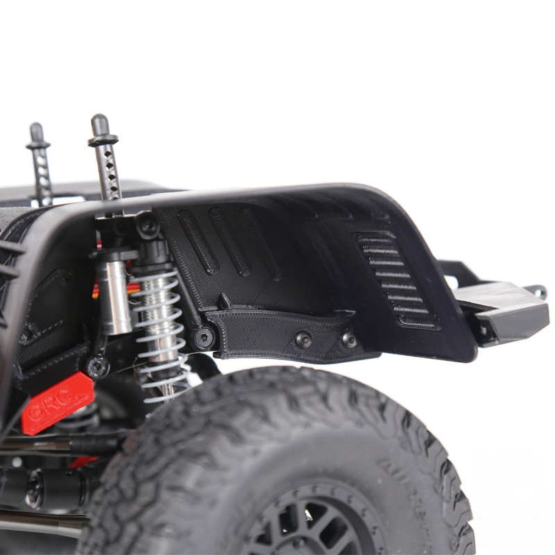 90046 RC Truck FENDER FLARES Plastic Black Tire Inner Board/Wheel ...