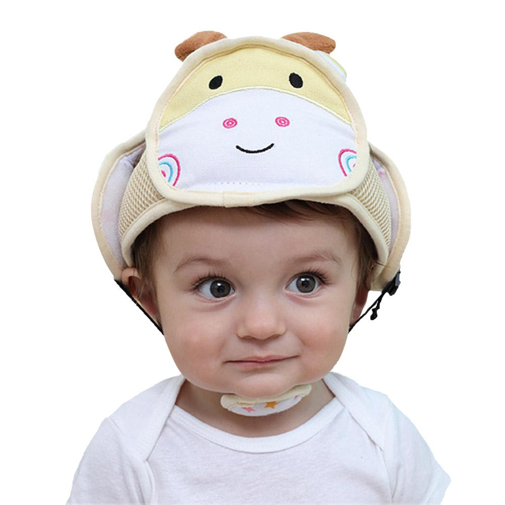 Child Anti-crash Cap breathable Baby Head Protection Toddler hat Cartoon Protective Bumper Cap  Baby Safety Helmet защитный детский шлем