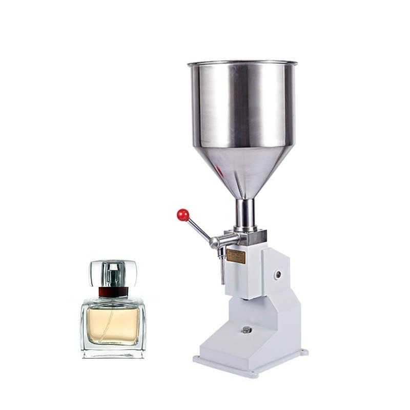 Jamielin Manual Filler Honey Packing Machine 5-50ml Dispensing Liquid Packaging Equipment Sold Cream Machine Filling Machine