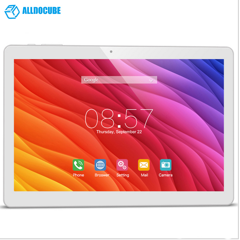 10.1'' Tablet PC Cube T12 3G Phone Call IPS1280x800 Android 6.0 Quad Core WCDMA Bluetooth Doppia Fotocamera 1GB/16 GB Wi-Fi GPS