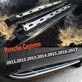 Для Porsche Cayenne 2011-2017 ходовые доски Авто боковой шаг бар педали Высокое качество Nerf бары