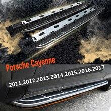 Для Porsche Cayenne 2011-2017 Автомобиля Подножки Авто Подножка Бар Педали Высокое Качество Новый Nerf Бары