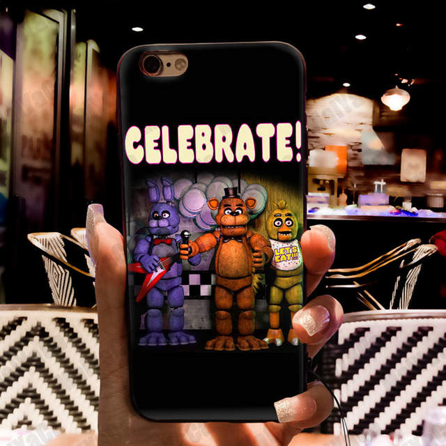 MaiYaCa Funny sfm fnaf animatronics Art Coque Shell Phone Case for Apple  iPhone 8 7 6 6S Plus X 5 5S SE 5C Cover