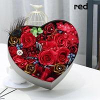 Flor Artificial Subiu Banho Corpo Sabão Presente do Dia Dos Namorados Do Casamento Do Natal Decoração Flores Flores do Amor Venda Quente 3