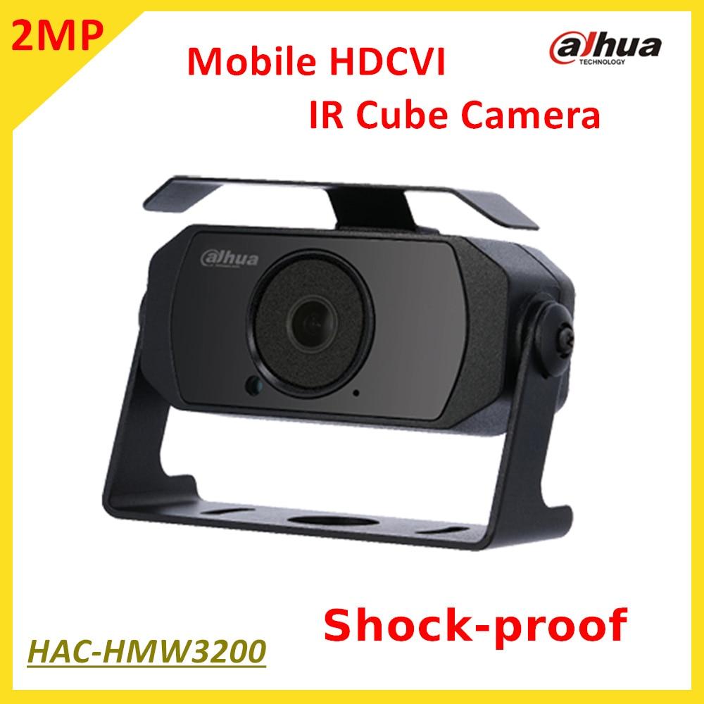 Newest Arrival! Dahua 2MP Mobile HDCVI IR Cube Camera HAC-HMW3200 Smart IR Distance 20m Full HD 1080P Shock-proof нивелир ada cube 2 360 home edition a00448