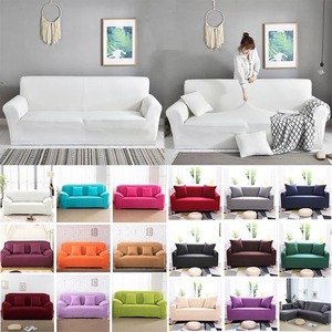 Sofa Cover for Living Room Elasticity Non-slip Couch Slipcover Universal Spandex Case for Stretch Sofa Cover 1/2/3/4 Seater(China)