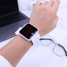 Zhou Lianfa Fashion Sport Brand Women Digital Watch Touch Screen Silicone Strap