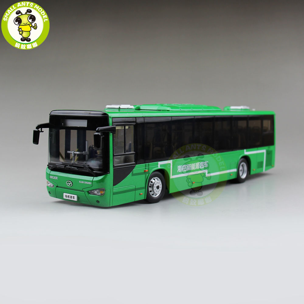 1 42 China Gold Dragon Higer KLQ6129 City Bus Coach Diecast Bus CAR Model Toys for