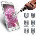 Tempered glass 2.5D For Samsung Galaxy S2 S3 S4 S5 S6 S7 Mini film 9H Real Premium Screen Protector Toughened Protective