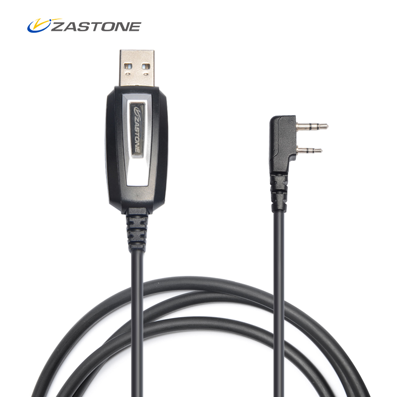 Zastone TK Plug Programming Cable for CB Radio Walkie Talkie for BAOFENG UV-5R BF-888S UV-82 Zastone ZT-889G X6 V77 V8 ZT-501