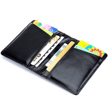 Driver's License Genuine Leather Case Ultra Thin Multifunctional Credit Card Bag ID Holders Wallet Women License Holder Wallet
