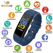 BINSSAW для мужчин и wo для мужчин Смарт часы водостойкие часы Спорт digi Часы Приборы для измерения артериального давления сердечного ритма…