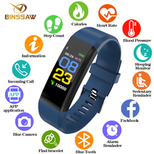 BINSSAW Men and women Smart Watch Waterproof Watch Sport digi Watch Blood Pressure Heart Rate Monitor Fitness tracker pedometer