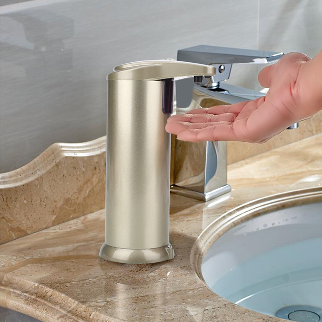 Soap Dispenser Automatic Sensor Stainless Steel Kitchen Wall Mounted Dispenser