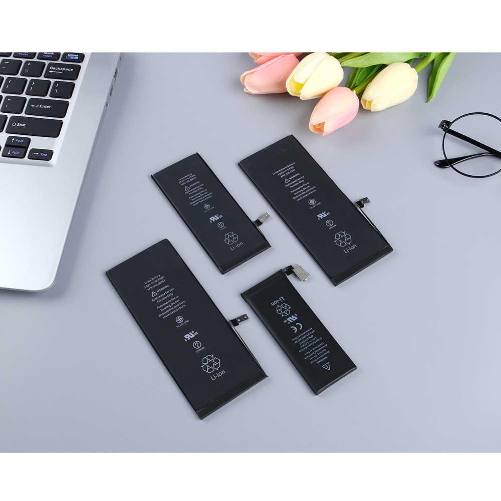 2019 nova bateria de lítio para apple iphone 6 s 6gs bateria de substituição interna capacidade 1715 mah pacote varejo