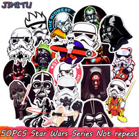 50pcs Mixed Star Wars Stickers Graffiti JDM Sticke ...