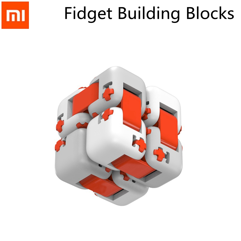 Original Xiaomi Mitu Cubes Spinner Finger Bricks Intelligence Toys Magic Fidget Building Blocks Infinity Toy Anti Stress Anxiety