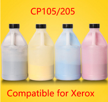 Free Shipping Compatible for xerox CP105 205 Chemical Color Toner Powder  printer color powder 4KG