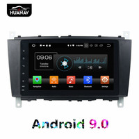 DSP Android 9 Car GPS Navigation DVD Player For ML W163/CLK W2092002 2005 C Class W203 SLK Auto radio multimedia Stereo recorder