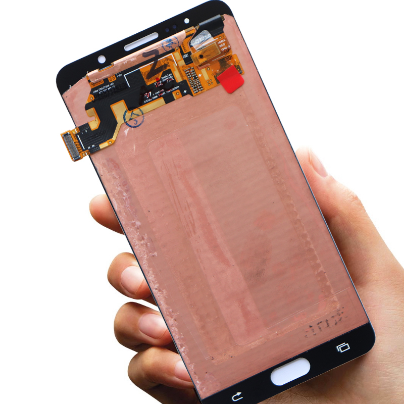 ORIGINAL 5.7'' LCD with frame Burn Shadow Display for SAMSUNG Galaxy Note 5 N9200 N920T N920A N920I N920G Touch Screen Digitizer-in Mobile Phone LCD Screens from Cellphones & Telecommunications    3