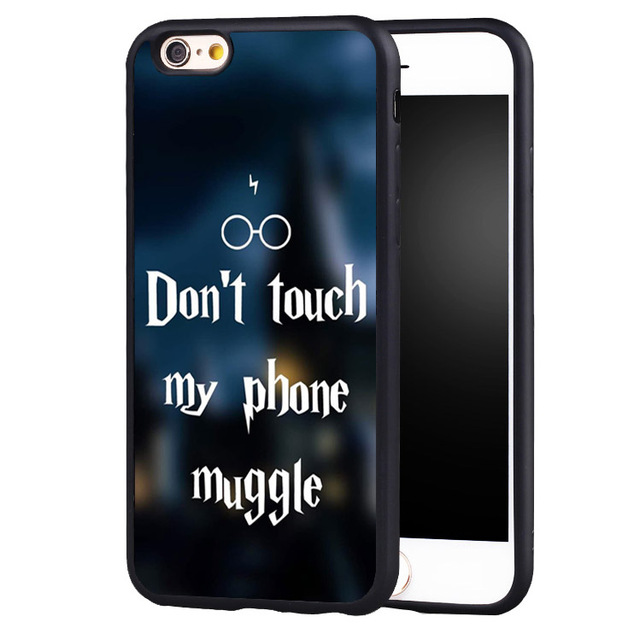 hot sale online 75181 bdcd1 US $4.99  Harry Potter Magic Quotes Protective case cover for iphone 7  7plus 6 6splus 5 5s 5c SE-in Fitted Cases from Cellphones &  Telecommunications ...