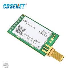 Full Duplex 433MHz rf Module E62-433T20D Long Range Wireless Transceiver iot FEC UART TCXO rf Transmitter and Receiver