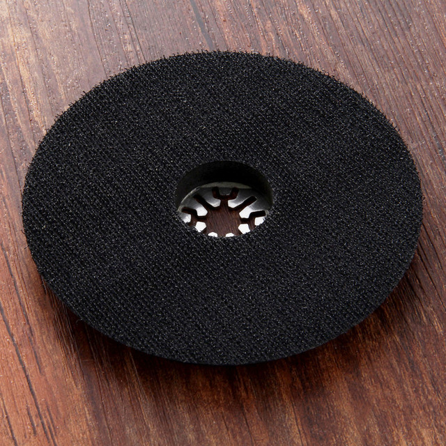 Round Sanding Pad Polishing Grinding Rotary Tools for Fein Dremel1Pc Oscillating Multi Tools Universal Stainless Steel 115mm