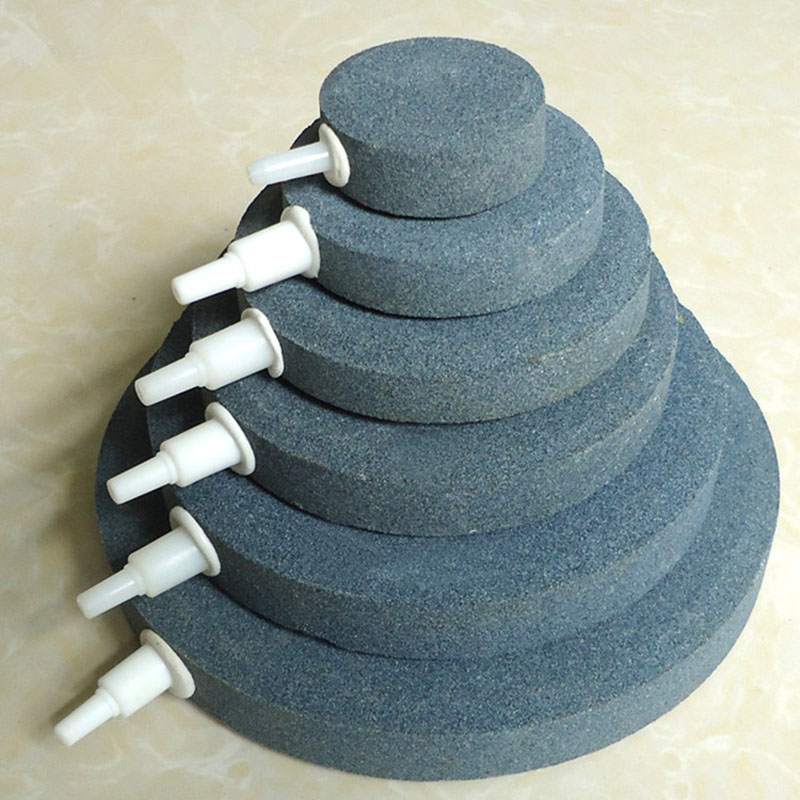 40/50/60/70/80mm Bubble Stone Aerator For Aquarium Fish Tank Pump Hydroponic Oxygen Plate Mini Air Pump Accessories