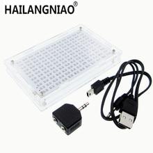 جديد! LED عرض الموسيقى الطيف محلل مكبر للصوت Hifi MP3 PC مستوى الصوت متر أطقم