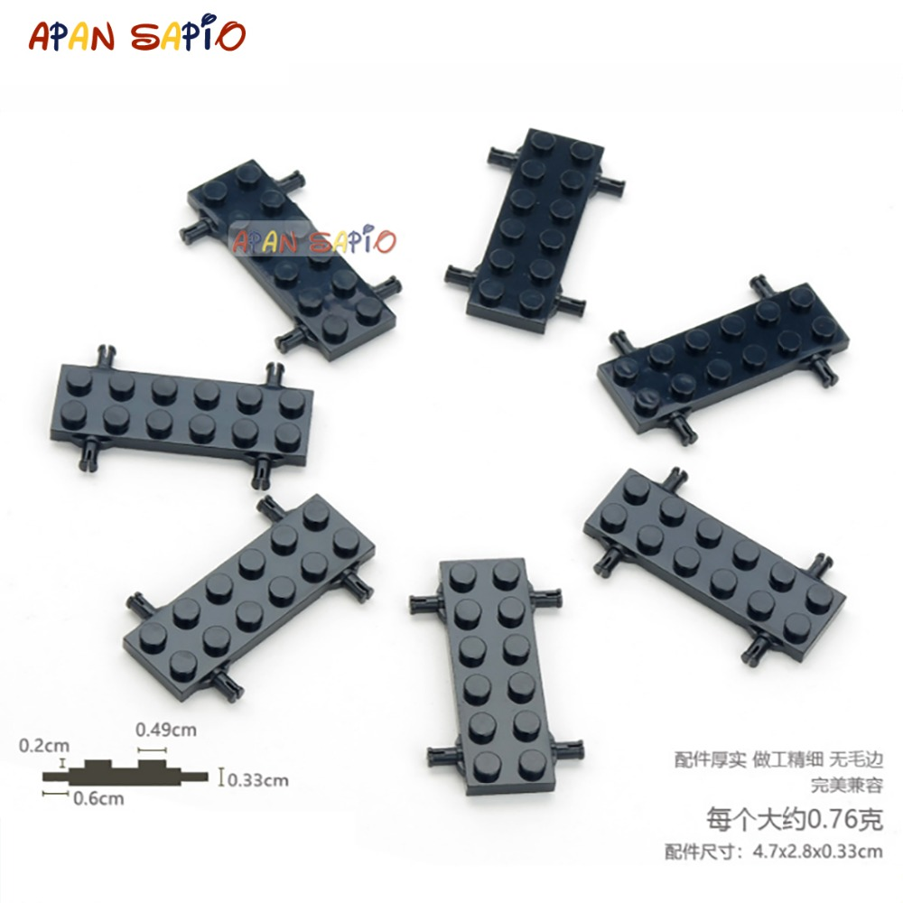 DIY Blocks Building Figures Bricks Axle And Wheel Educational Assemblage Construction Toys For Children Compatible With Lego