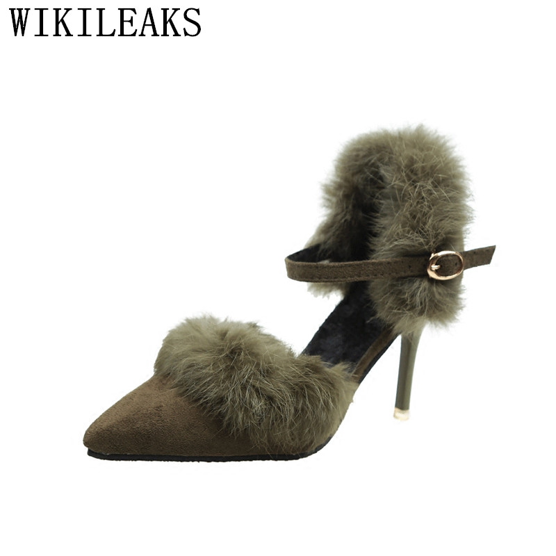 mary jane shoes fur pumps fetish high heels designer shoes women 2017 high heel bridal shoes escarpin femme 2017 sapato feminino mary sterling jane algebra ii essentials for dummies