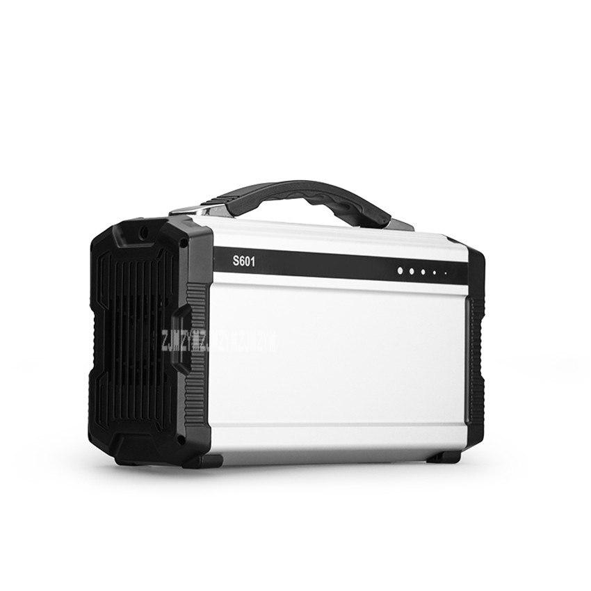 Camping outil extérieur 200-250 W batterie portable solaire chargeur 60000 mah centrale d'alimentation de secours 2 Ports USB AC sortie cc