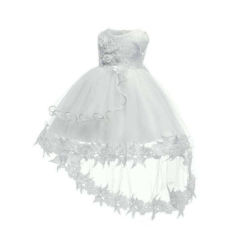 Infant Girls First Baptism Dress Toddler Kids Wedding Dresses Baby 0 2 Years Birthday Party Dresses Outfits Children Clothing Dresses     - title=