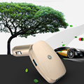 Car Air Purifier PM2.5 Formaldehyde Removing Sterilize 2 Colors Dual USB Car Charger Ionizer Negative Ion Air Purifiers