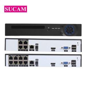 8CH 4MP Система охранного видеонаблюдения POE NVR 8CH * 4MP 4CH * 5MP DVR Kit XMEYE P2P ONVIF сетевой видеорегистратор безопасности для 4MP 5MP IP камеры видеонаблюдени...