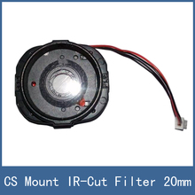 New High Definition 20mm Aperture Improved Version CS Mount Lense IR-Cut Filter For CCTV Security Camera Web Cam Lens