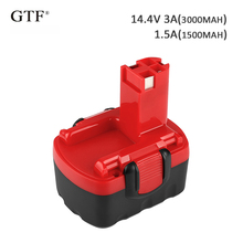 3000mah 14.4V Rechargeable Tool Battery for Bosch Replacement Ni-CD Battery for Bosch BAT038 2 607 335 264 2 607 335 276 BAT140 цены