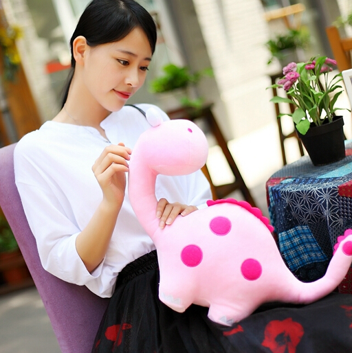 1PCS New Arrival Stuffed Lovely Dinosaur Dolls Cute Soft Plush Toys Baby Loved Gifts Toys Free Shipping YZT0045 периферийные устройства usb 1pcs free shipping cute new memo set lovely mix design messa