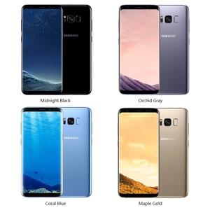 "Image 3 - סמארטפון מקורי Samsung Galaxy S8 בתוספת SM G955U 4GB RAM 64GB ROM אוקטה Core 6.2 ""תצוגת אנדרואיד טביעות אצבע smartphone"